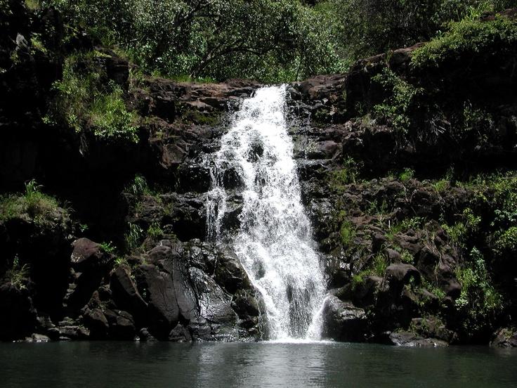 Oahu waterfall