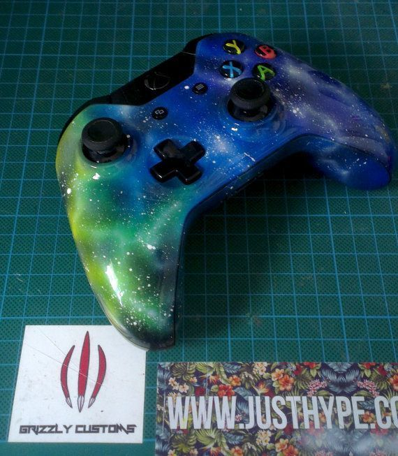 A fully custom airbrushed Xbox One wireless controller on Etsy, £90.00. this is really cool
