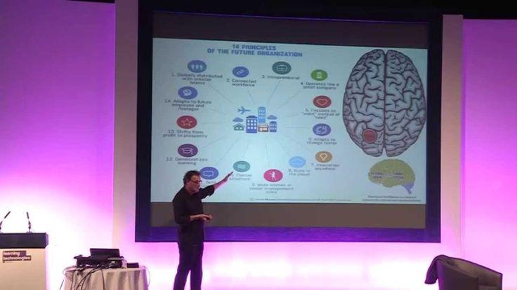 The future of work: back to the right brain. Futurist Keynote Speaker Ge...