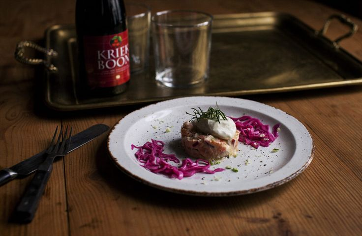 Smoked Salmon Tartare with Fennel Ice Cream – Nordic Provisions – A blog about food in the nordics