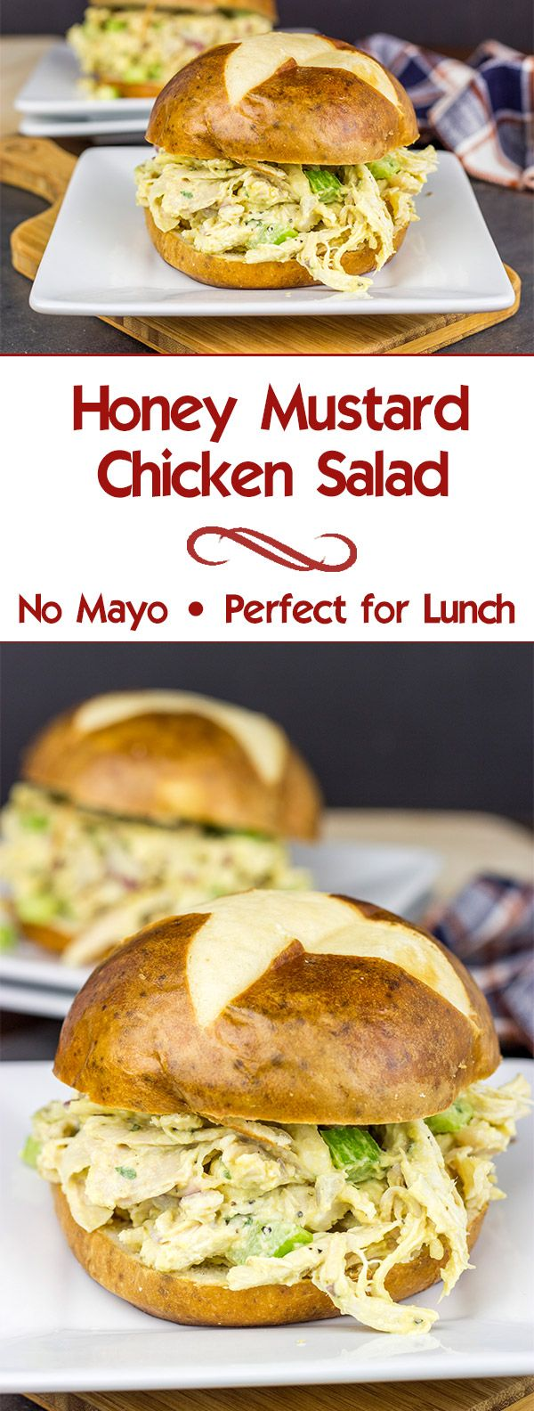 Mix up weekday lunches with this tasty Honey Mustard Chicken Salad!