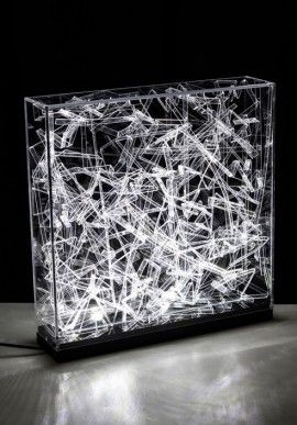 """Table lamp - """"Ways"""" by Claudio Brunello BUY IT NOW ON www.dezzy.it!"""
