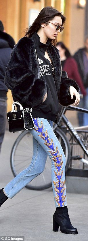 Flash some flesh like Bella   Click 'visit' to buy it now  #DailyMail