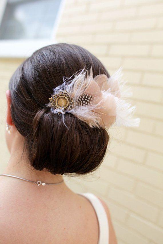 DEMORE Vintage Couture Bridal Fascinator