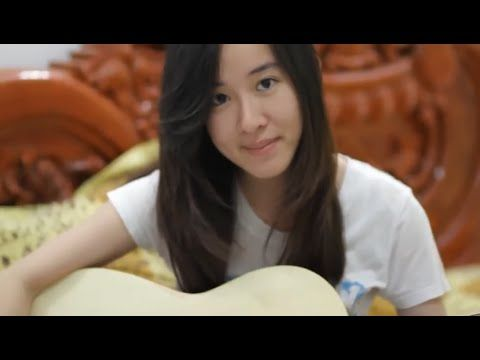 Sin Sisamuth, Cute Girls Sing On Facebook - Champa Battambang-Cover Sin Sisamuth # 01
