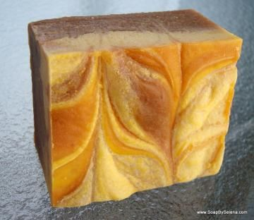 Pumpkin Spice Soap Made With Real Pumpkin by soapbyselena for $4.00