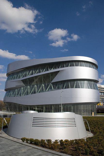 Mercedes-Benz museum in Stuttgart, I've been here, it was beautiful