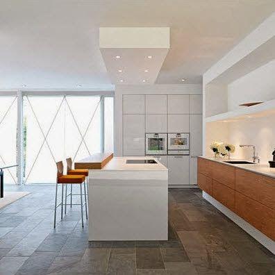 40 dise os de modernas islas de cocina ideas con fotos - Fotos cocinas modernas ...