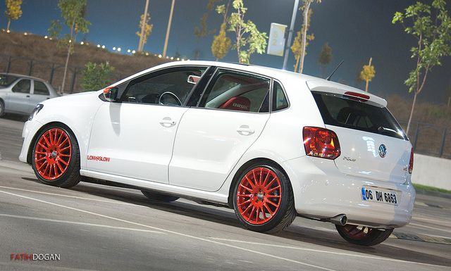"Superturismo GT 17"" on VW Polo 6R -photo by fatih dogan #OZRACING #RACING #SUPERTURISMO #GT #RIM #WHEEL"