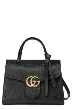 f2caf3ae2183 Gucci Small GG Marmont Top Handle Satchel, Main Image | Gucci | Gg ...