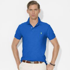 Slim-Fit Mesh Polo - Polo Ralph Lauren Slim-Fit - RalphLauren.com