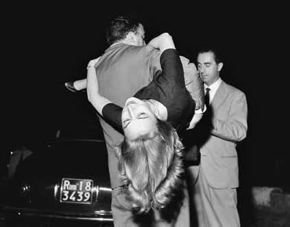 Oriana Fallaci, Federico Fellini e Michelangelo Antonioni