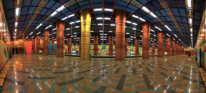 12 Reasons to Fall in Love with Lisbon - by The Culture Map 15.05.2014   The transport is so efficient (and the subways look like a modern art gallery) Photo: Olaias underground station, Lisbon