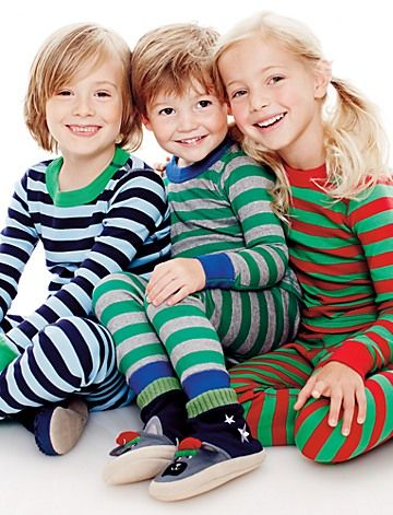 Long John Pajamas In Organic Cotton     The ultimate Holiday pj's