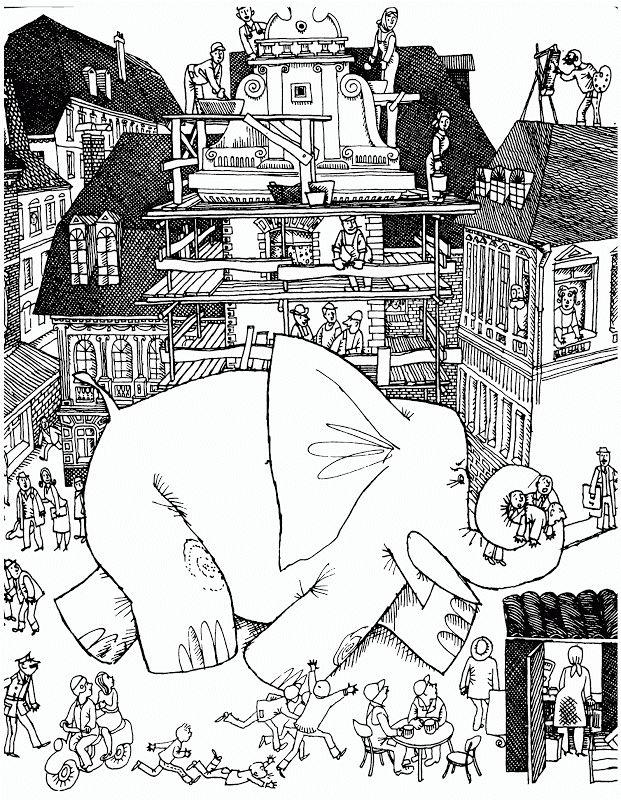 """Геннадий Калиновский «Послушай-ка, слон»   """"Картинки и разговоры"""""""
