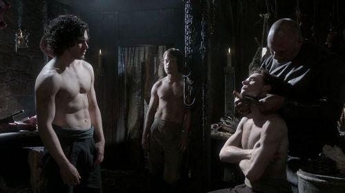 Jon Snow, Theon Greyjoy & Robb Stark.