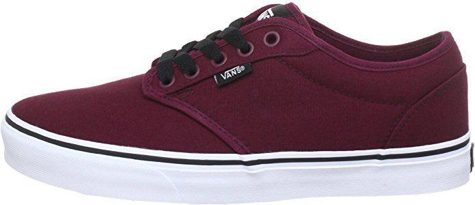 Vans Atwood Herren Sneakers, Rot ((Canvas) oxbloo 8J3), 50
