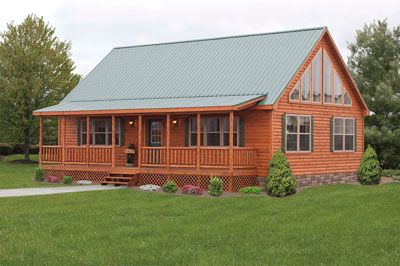 Mountaineer -- Modular Prefab Log Cabins | Zook Cabins about $114,000 including set up