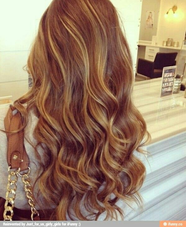 Lighter hair color....very light, but I like how thin the weave is