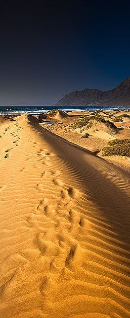 Famara, Lanzarote, Canary Islands, Spain