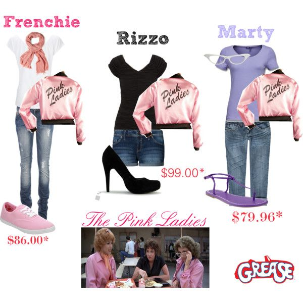 btw pink ladies grease by rbrdwy94 - Polyvore