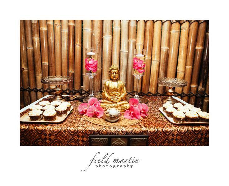Bali themed 60th birthday birthday