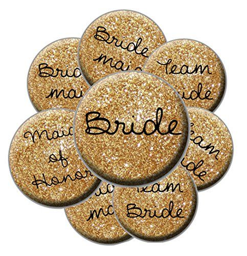 16 Bridal Buttons - Faux Gold Glitter Pattern - Bachelore... https://www.amazon.com/dp/B014FNP4WQ/ref=cm_sw_r_pi_dp_RdcyxbJXJ6BEH