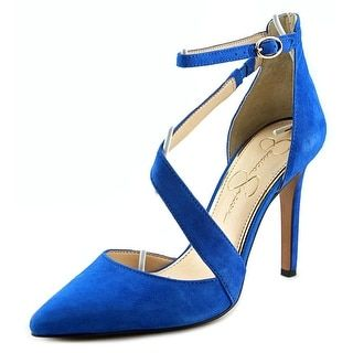 Shop for Jessica Simpson Castana Pointed Toe Suede Heels. Get free shipping at Overstock.com - Your Online Shoes Outlet Store! Get 5% in rewards with Club O!