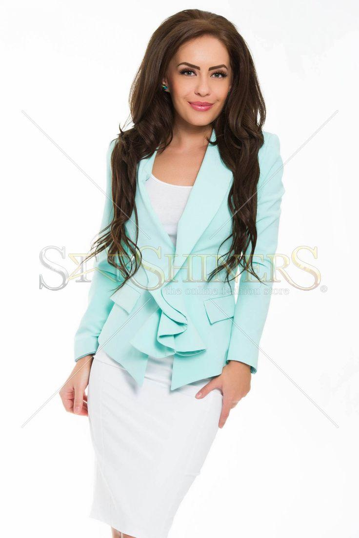 PrettyGirl Striking Mint Jacket