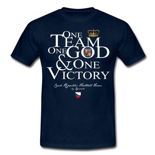 One Team république tchèque - sport - citation - football - Tee shirt Homme