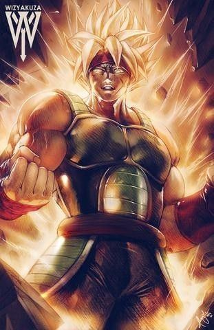 Absolutely stunning Super Saiyan Bardock art