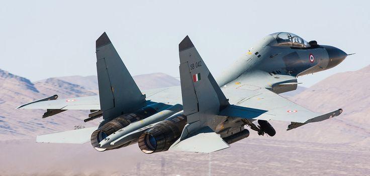 Su-30MKI take off - Indian Air Force