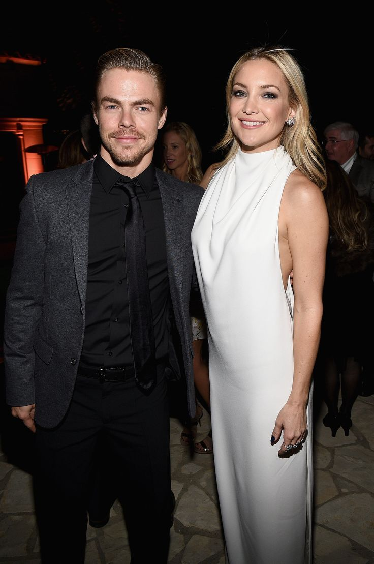 Kate Hudson and Derek Hough: Age difference: Six years Relationship status: After Kate and Matt Bellamy ended their engagement in late 2014, rumors soon emerged about her potential romance with Derek.