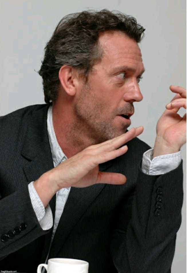Hugh Laurie | I blame Netflix in 2019 | Hugh laurie, Gregory house
