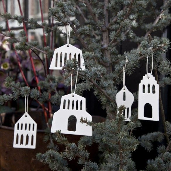 Urbania Ornaments Set of Five