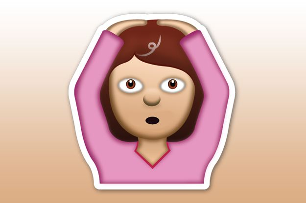 "The ""Oh God, I Got My First Grey Hair!"" Emoji: | 19 Emojis All Thirtysomethings Wish Existed"