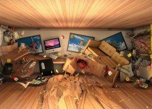 Беспорядок в доме, фото