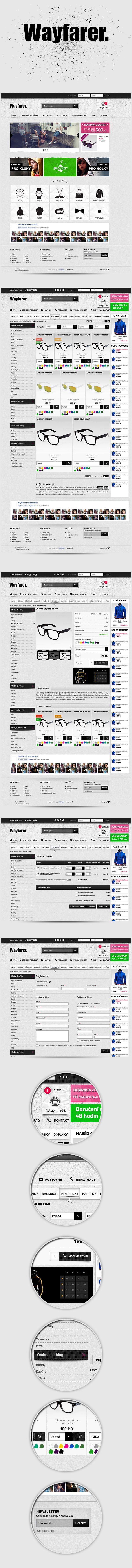 Wayfarer by Visualcreative.cz , via Behance