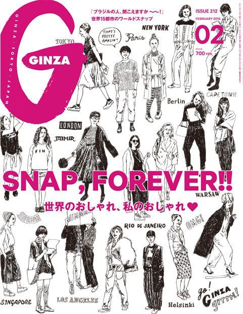 Ginza No. 212SNAP, FOREVER!!世界のおしゃれ、私のおしゃれ♥ENFÖLD STYLE COUNCIL #36