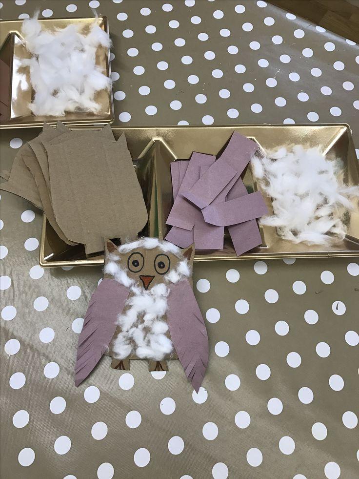 Owl creative activity EYFS Owl Babies