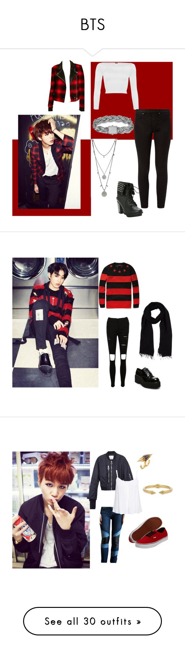 """""""BTS"""" by lovelyseoul784 on Polyvore featuring WearAll, Paige Denim, Vince Camuto, John Hardy, Givenchy, Blue Les Copains, Steve Madden, 3.1 Phillip Lim, Vita Fede and New Look"""