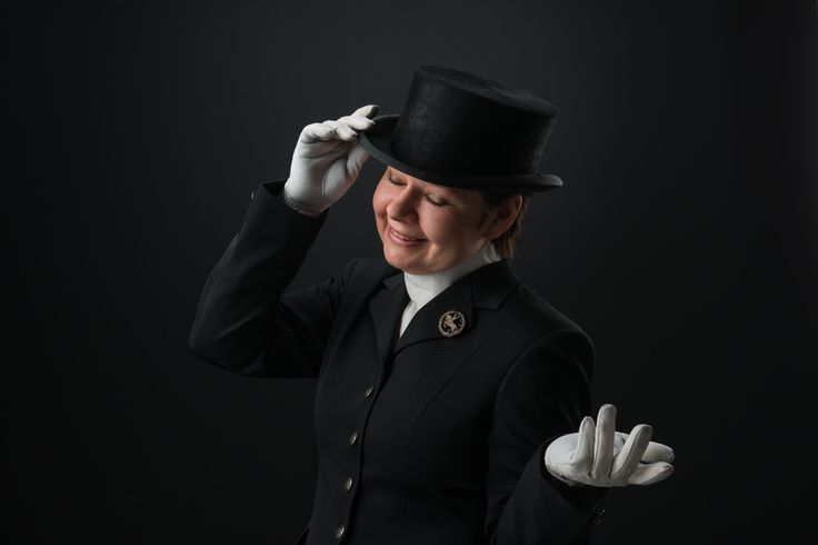 Sanna the dressager  #editorial #portrait