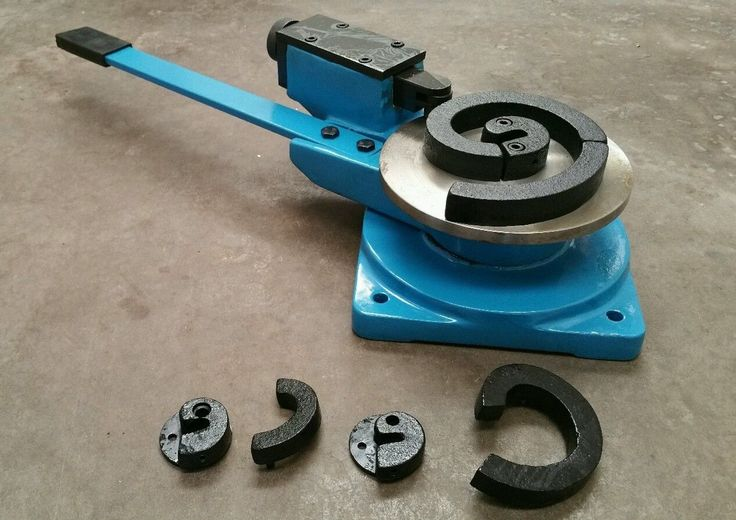 Metal steel Coil Hoop Scroll Bender ornamental fabrication metal work | eBay