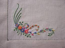 Resultado de imagem para riscos para bordados a mão flores