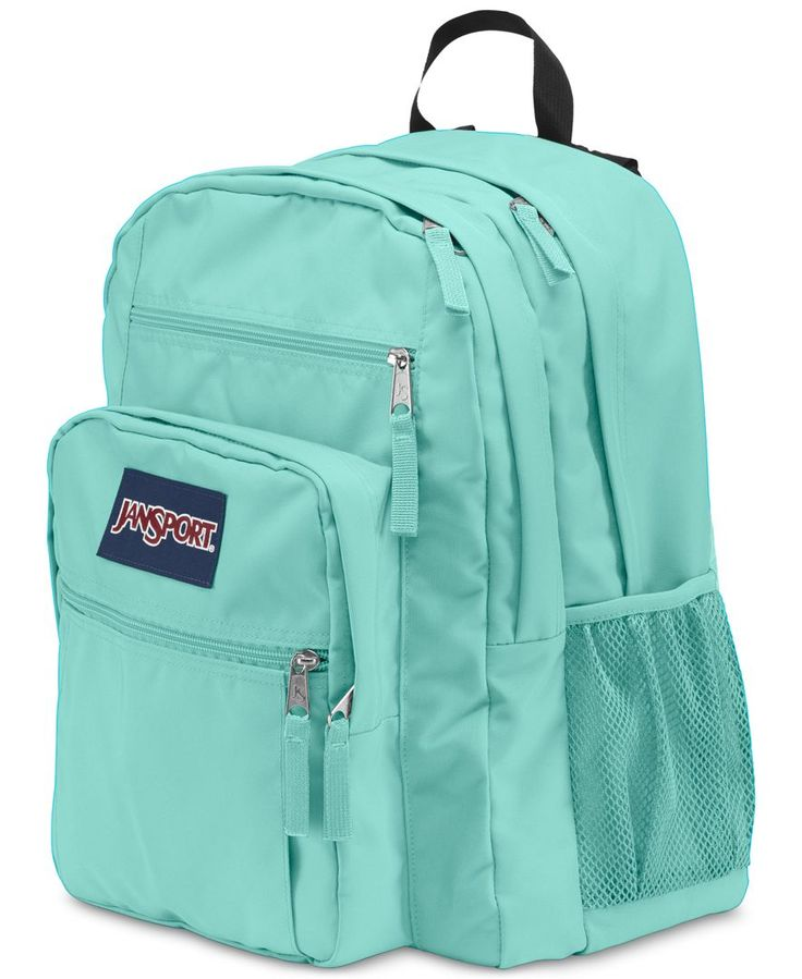 """Jansport makes room for your school supplies and accessories with this spacious and padded student backpack. 