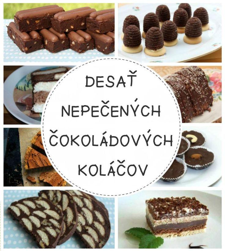 Desať nepečených čokoládových koláčov vhodných na vianočný stôl Ak nepatríte medzi ortodoxných vianočných cukrárov alebo máte málo času, možno oceníte pár tipov na nepečené zákusky.