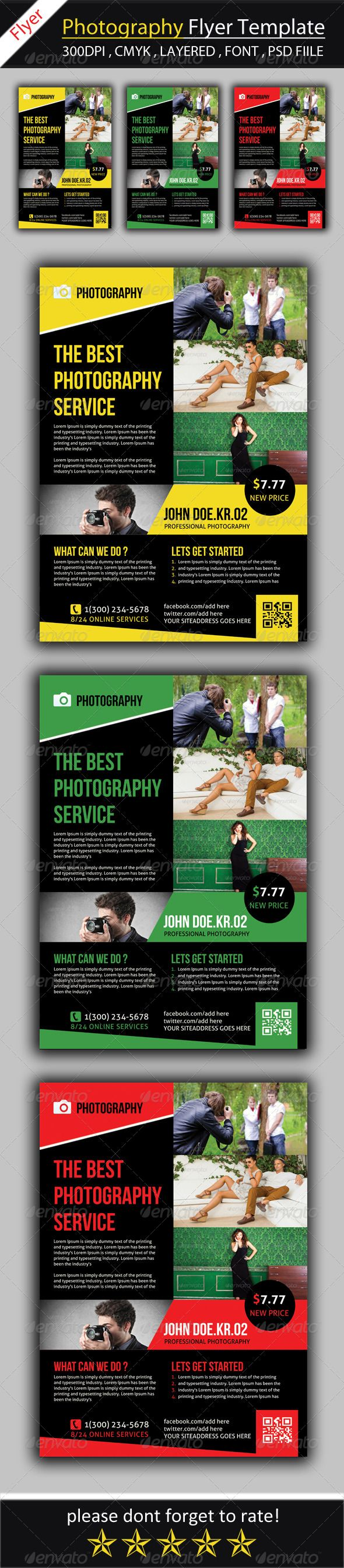 17 best ideas about pamphlet template brochures photography flyer template ad advert advertisement black camera