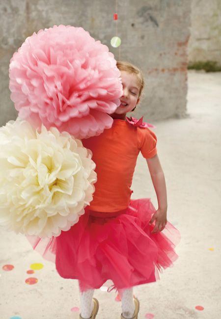ENGEL (エンゲル) Pom ペーパーフラワーポンポン - ウエディングドレスやアクセサリー、ブーケの通販|Cli'O mariage Online Store(クリオマリアージュオンラインストア)