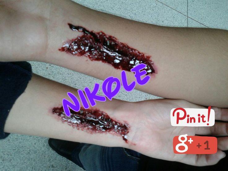 Heridas Hechos por: Nikole Ramirez