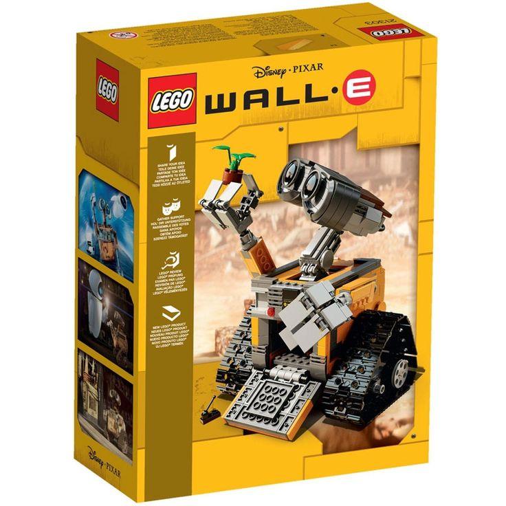 Acquista online LEGO Ideas Wall-e e ricevi entro 24/48 ore. Spedizione Gratis a partire da €49,90!